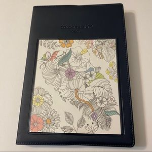 Colour Therapy Diary - Navy